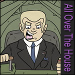 All Over the House - The daily law, politics and comedy web comic